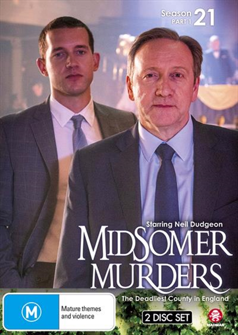 Midsomer Murders - Season 21 - Part 1 | DVD
