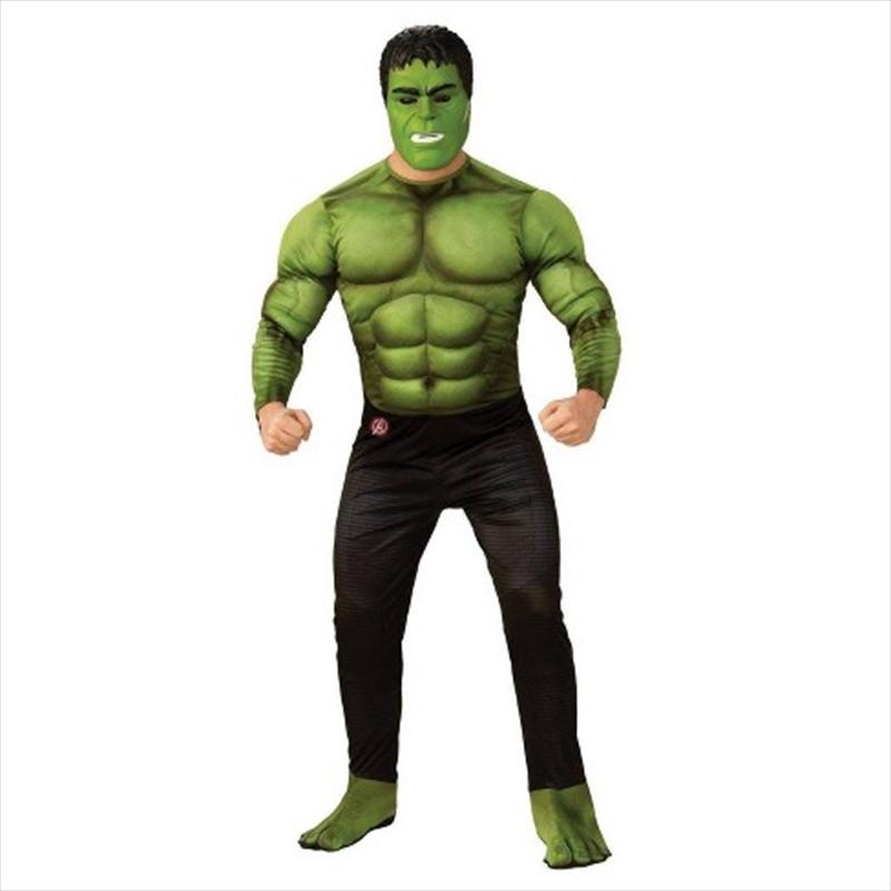 Adult Avengers Hulk Deluxe Costume Size Std | Apparel