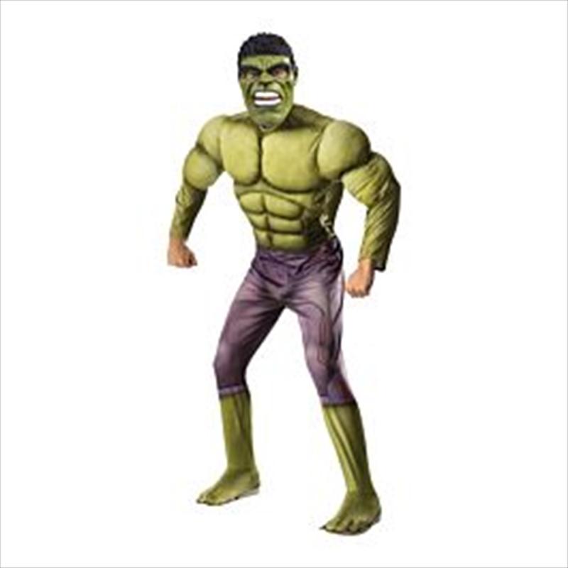 Hulk Deluxe Costume: Size Std | Apparel