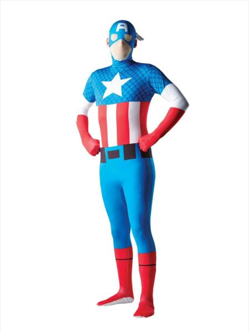Captain America 2nd Skin: Size M | Apparel