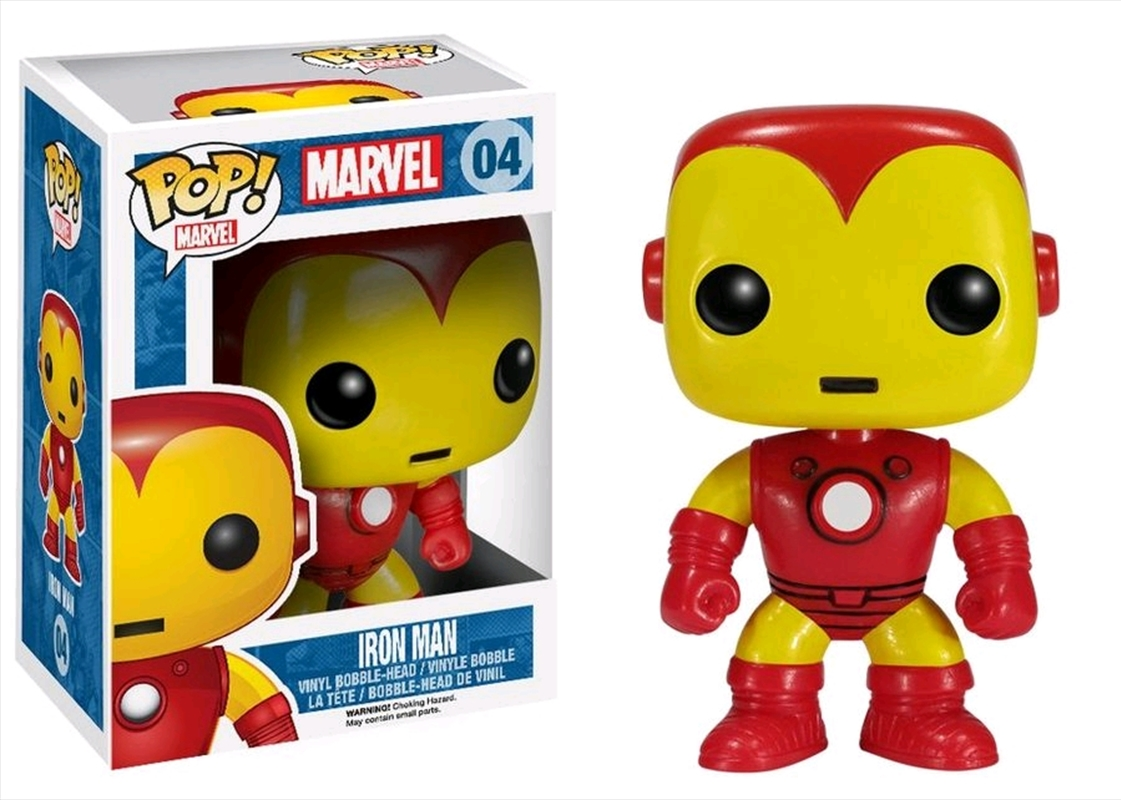 Iron Man - Classic Iron Man Pop! Vinyl | Pop Vinyl