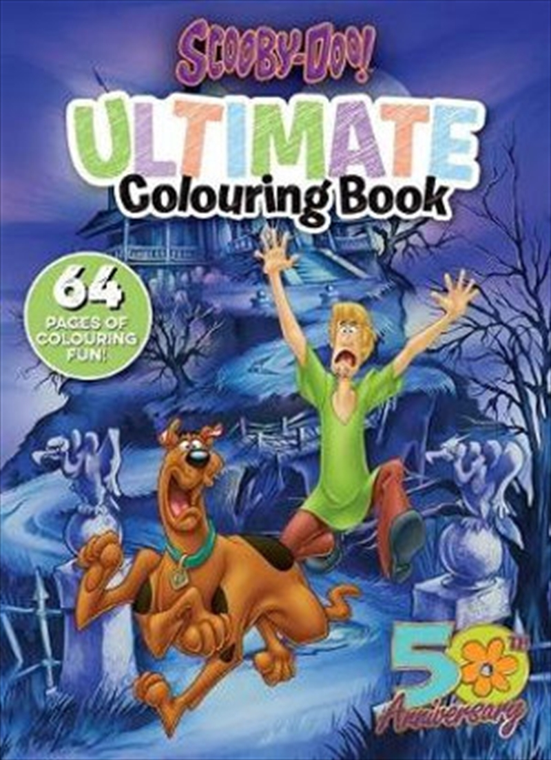 Ultimate Colouring Book   Paperback Book
