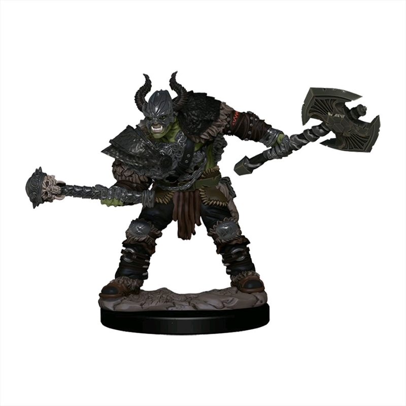 Pathfinder - Half-Orc Barbarian MalePremium Figure | Games