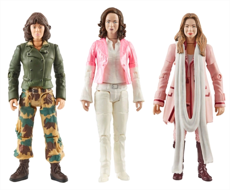 Doctor Who - Companions of the Fourth Doctor Action Figure 3-pack | Merchandise