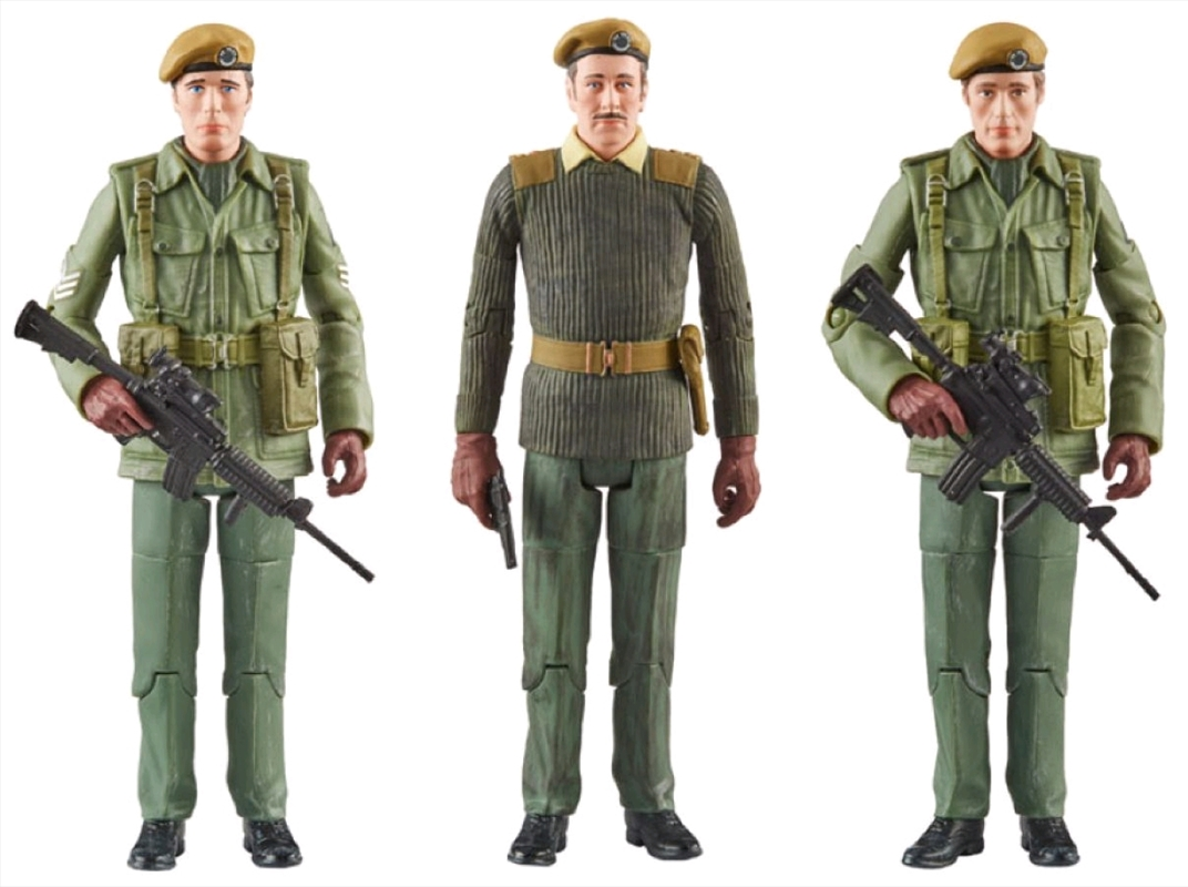 Doctor Who - UNIT 1971 Action Figures 3-pack | Merchandise