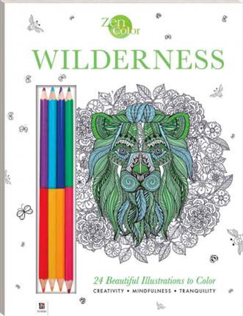 Zen Color: Wilderness | Colouring Book