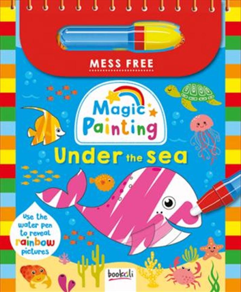 Magic Painting Ocean | Paperback Book