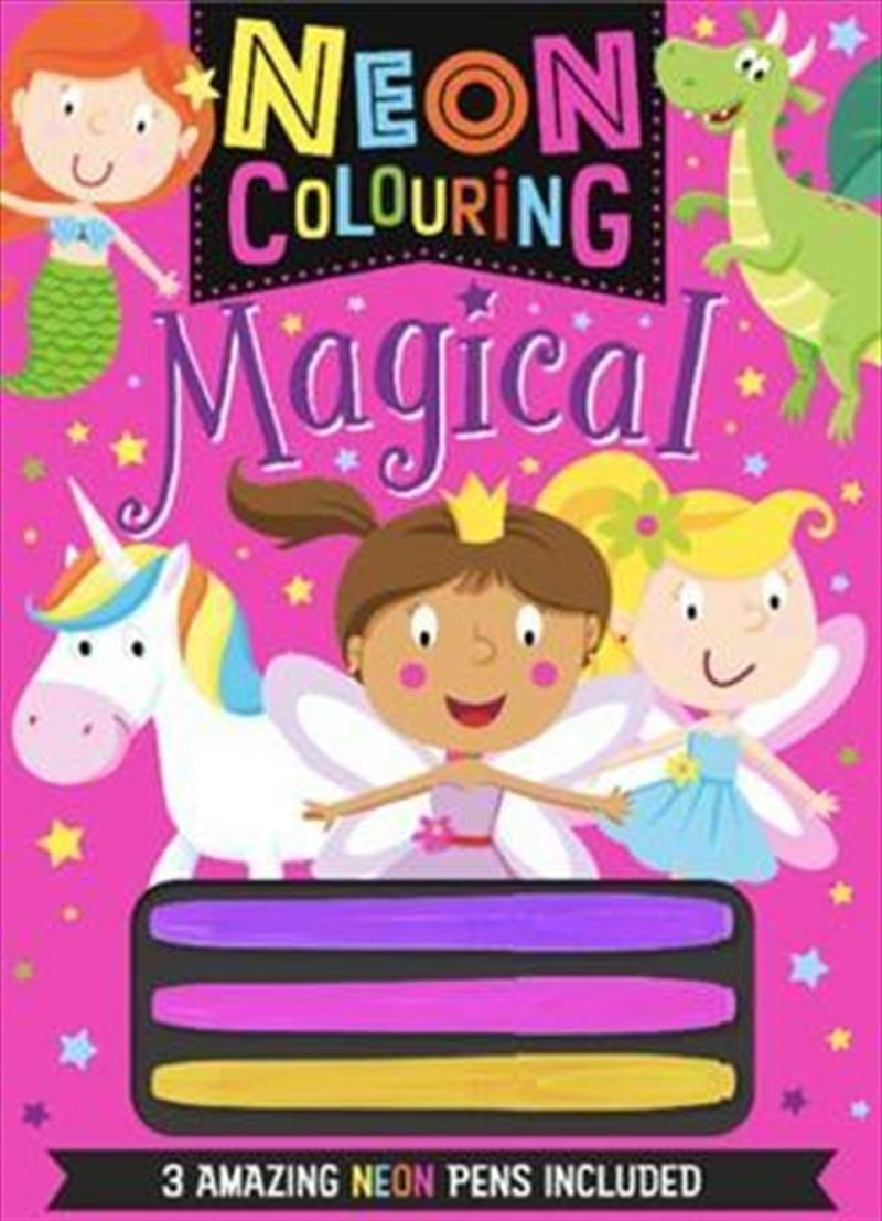 Neon Colouring Magical | Colouring Book