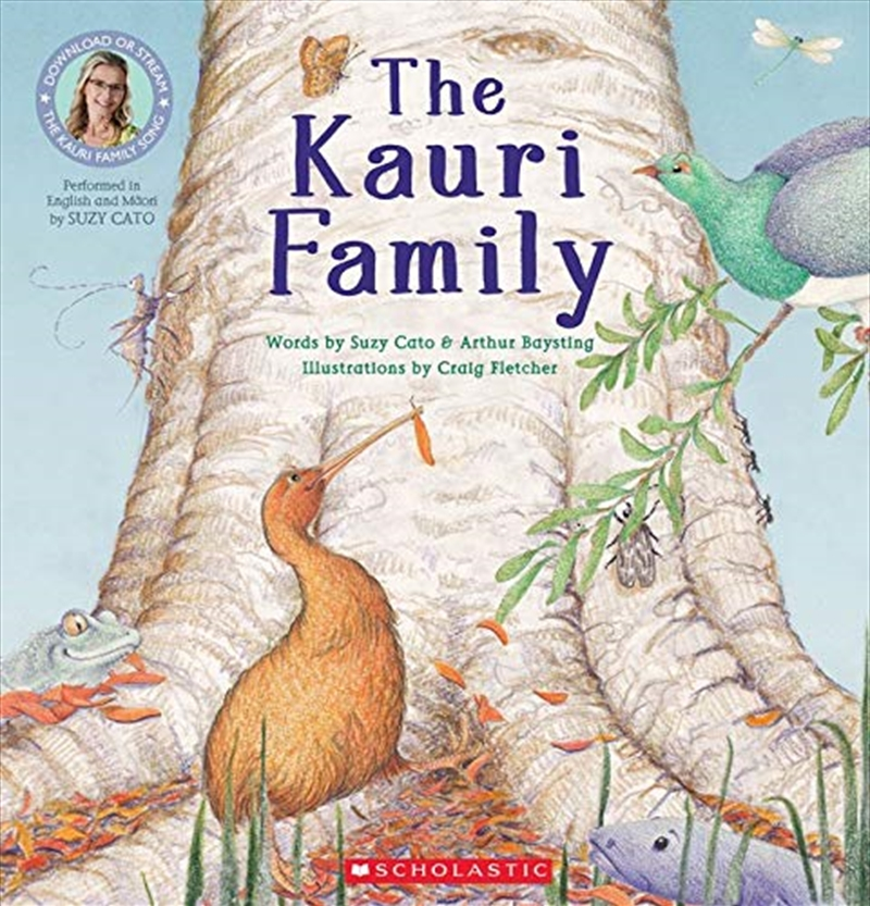 The Kauri Family   Paperback Book