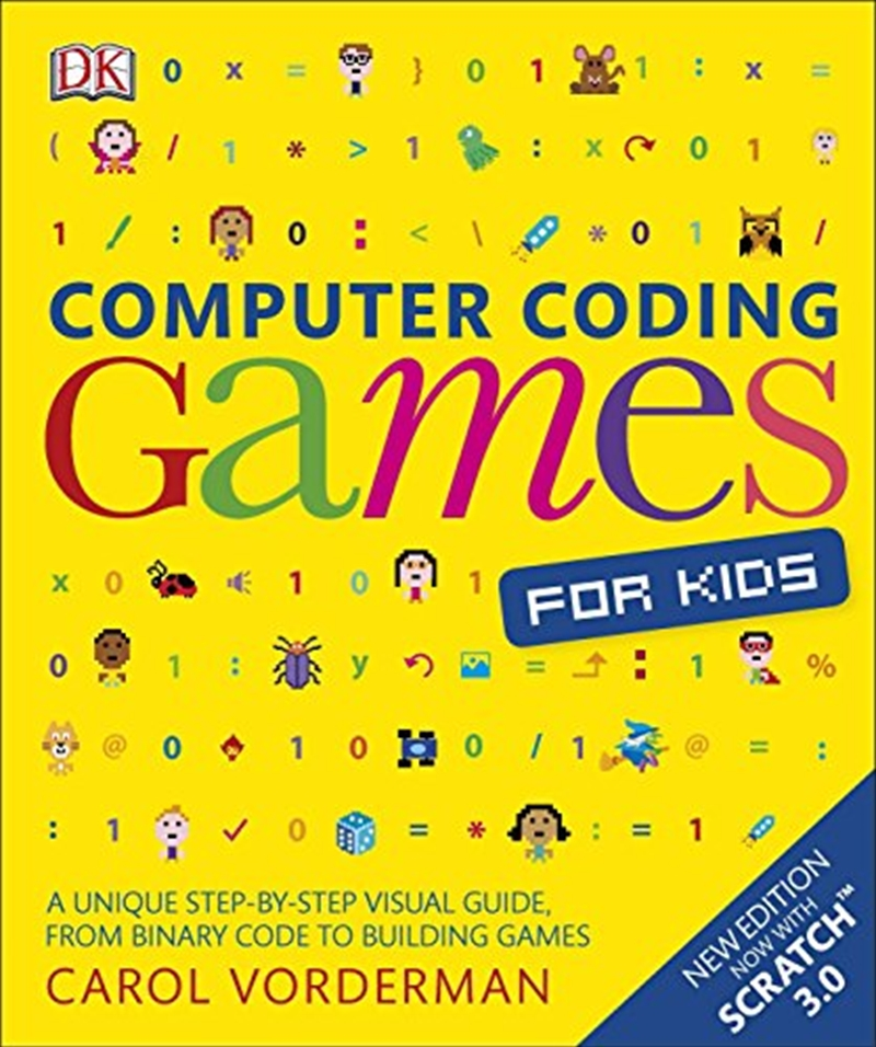Computer Coding Games For Kids | Paperback Book