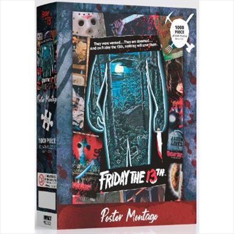 Friday the 13th - 1000 Piece Jigsaw Puzzle | Merchandise