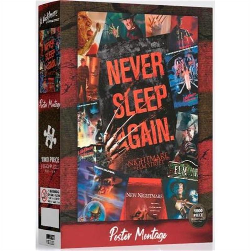 Nightmare On Elm Street  - 1000 Piece Jigsaw Puzzle   Merchandise