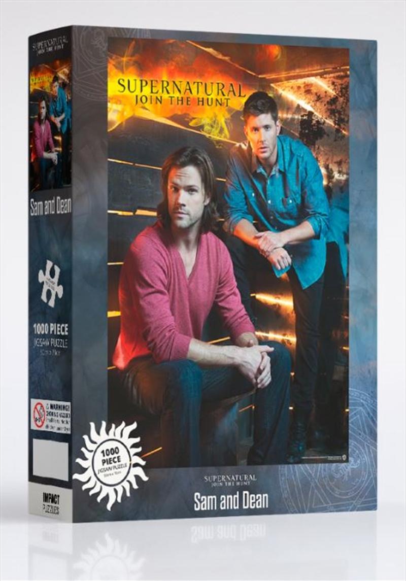 Supernatural - Sam And Dean 1000 Piece Puzzle | Merchandise