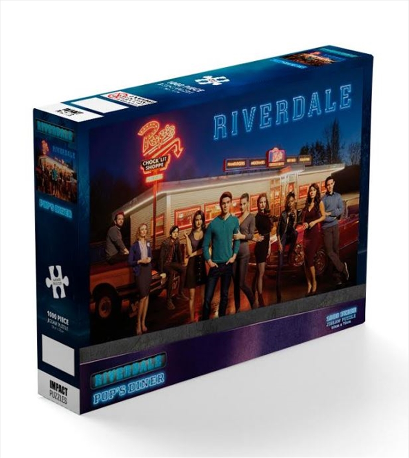 Riverdale: Diner 1000 Piece Puzzle   Merchandise