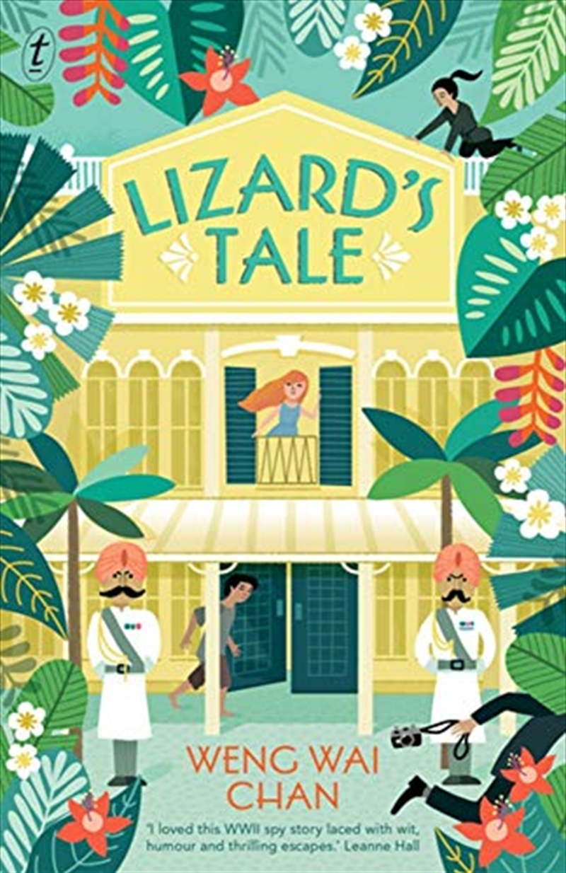 Lizard's Tale | Paperback Book