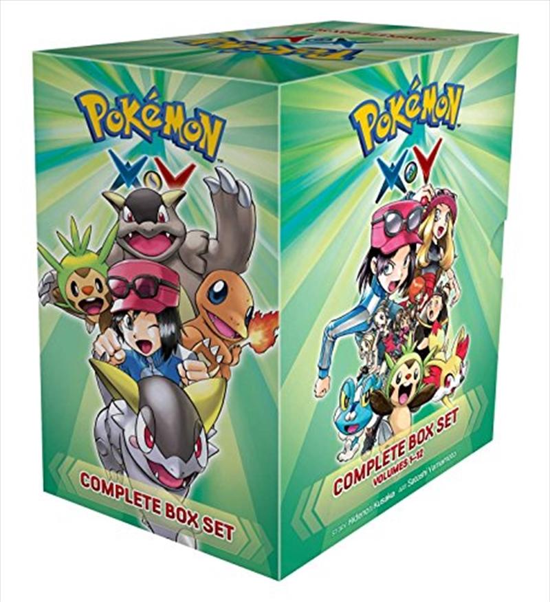 Pokémon X•y Complete Box Set: Includes Vols. 1-12 (pokemon) | Paperback Book