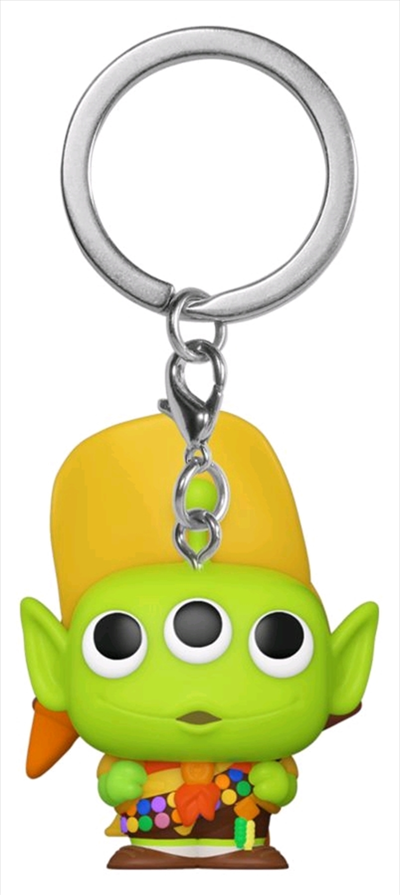 Pixar - Alien Remix Russell Pocket Pop! Keychain | Pop Vinyl