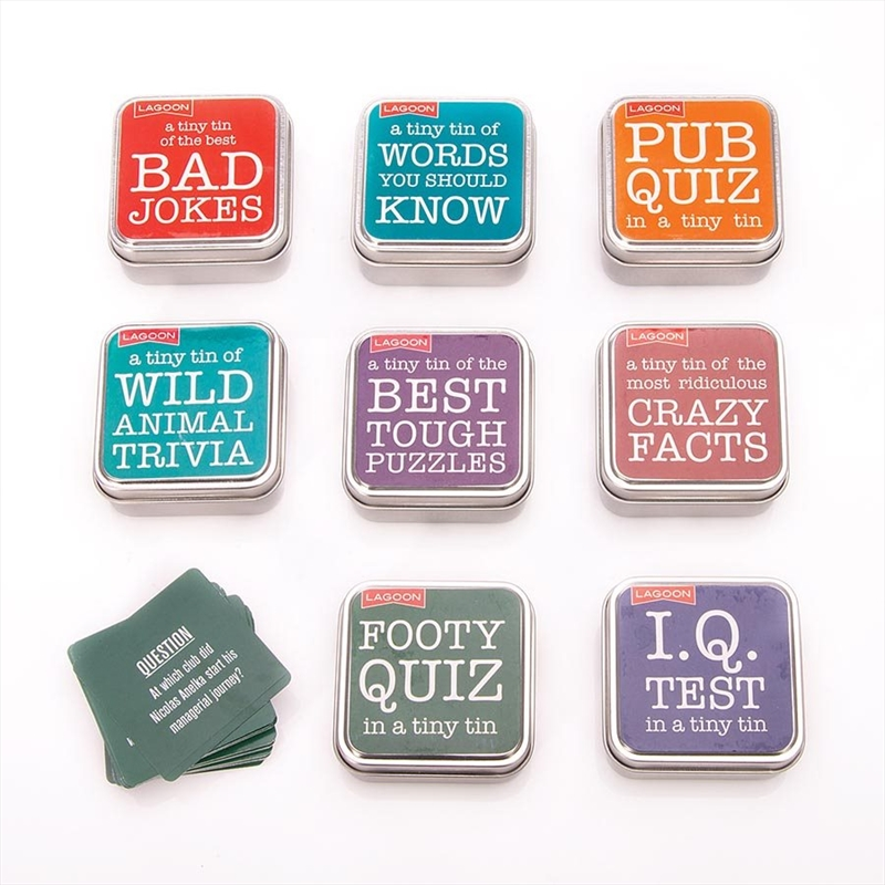 Tabletop Fun In A Tiny Tin (SENT AT RANDOM) | Merchandise