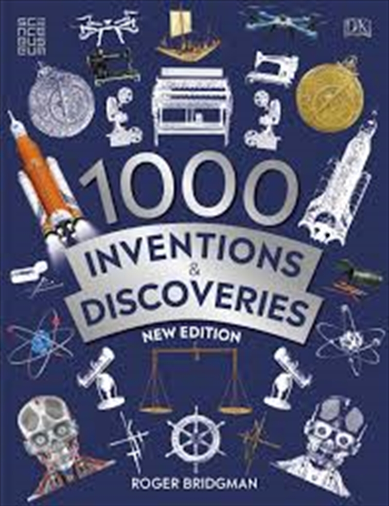 1000 Inventions And Discoveries | Paperback Book