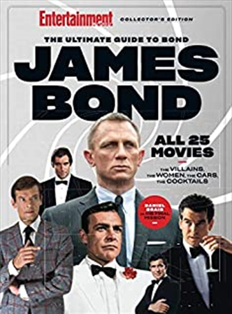 The James Bond Film Guide | Hardback Book