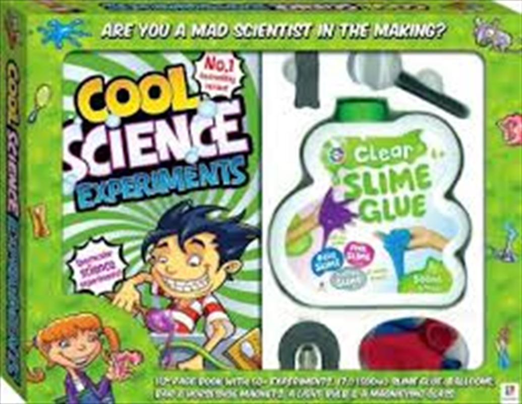Cool Science Experiments   Books
