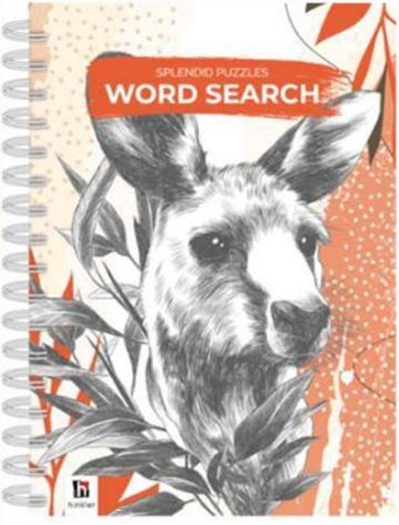 Australiana Word Search   Spiral Bound