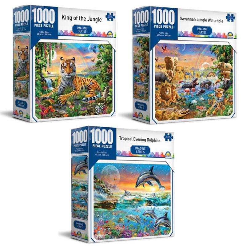 Imagine Series - Crown 1000 Piece Puzzle (SELECTED AT RANDOM) | Merchandise
