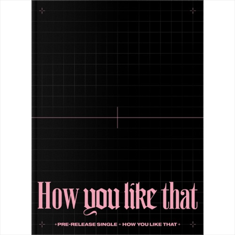 How You Like That - Special Edition | CD