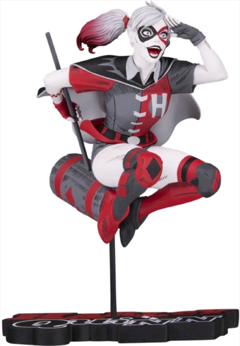 Batman - Harley Quinn Red, White & Black by Guillem March Statue | Merchandise