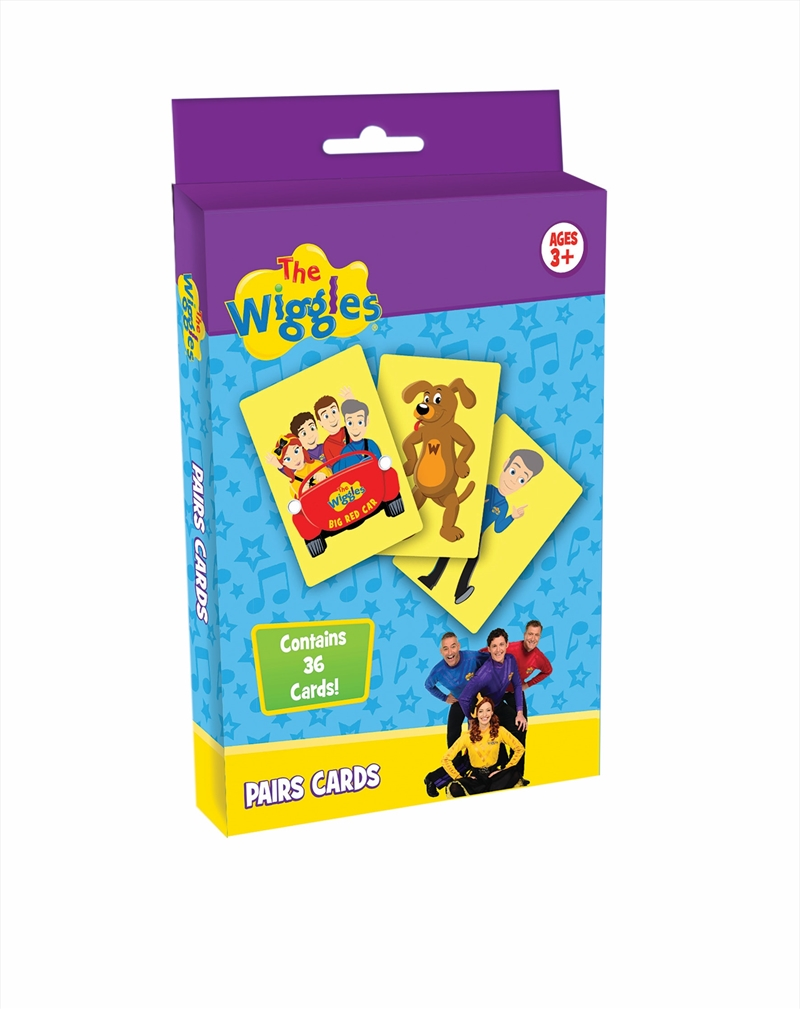 Wiggles Pairs Cards   Merchandise