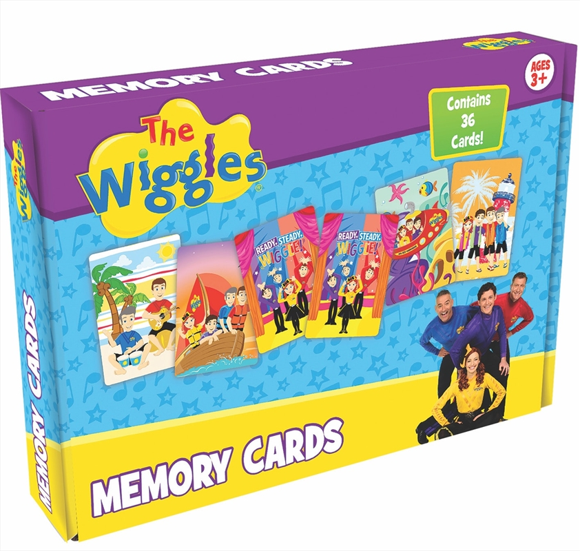 Wiggles Memory Cards   Merchandise