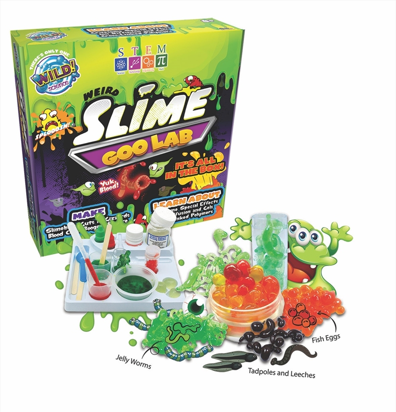 Wild Science Weird Slime Laboratory | Toy