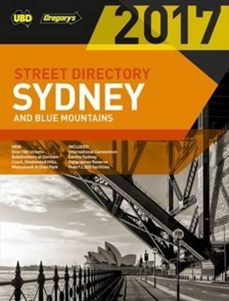 Sydney And Blue Mountains 2017 | Paperback Book