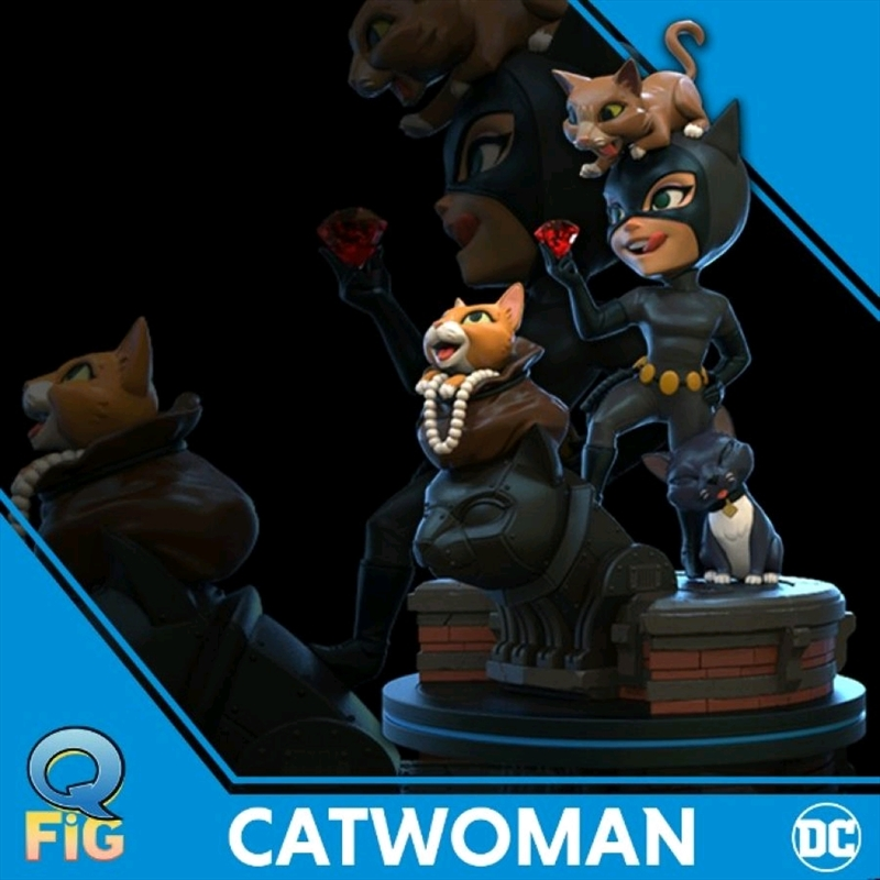 Batman: The Animated Series - Catwoman Q-Fig Elite | Merchandise