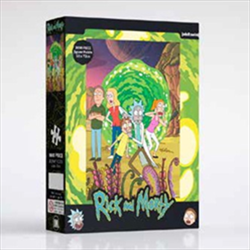 Rick And Morty The Portal - 1000 Piece Puzzle | Merchandise