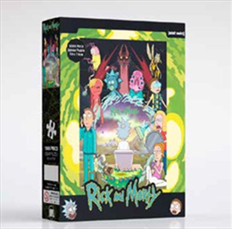 Rick And Morty Season 4 1000 Piece Puzzle   Merchandise