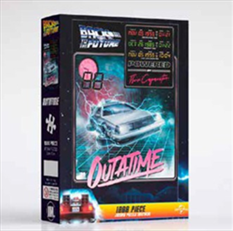 Outatime - Back To The Future 1000 Piece Puzzle | Merchandise