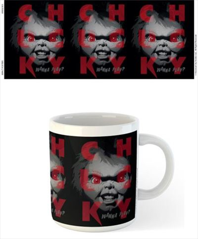 Chucky Red Eyes Mug | Merchandise