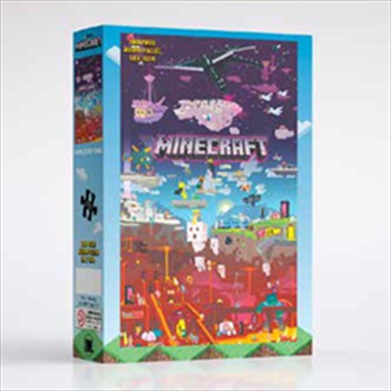 Minecraft World Beyond 1000 Piece Puzzle | Merchandise