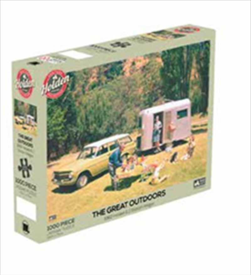 Holden The Great Outdoors 1000 Piece Puzzle | Merchandise
