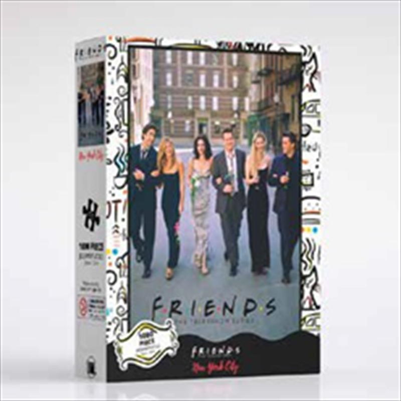 Friends On The Street 1000 Piece Puzzle | Merchandise