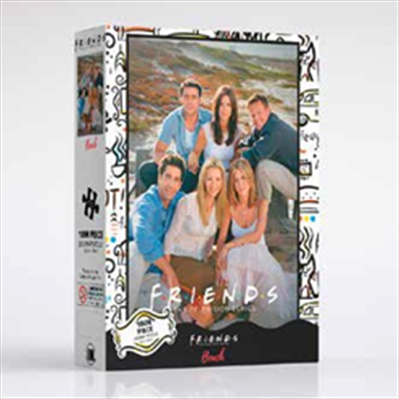Friends - Beach 1000 Piece Puzzle | Merchandise