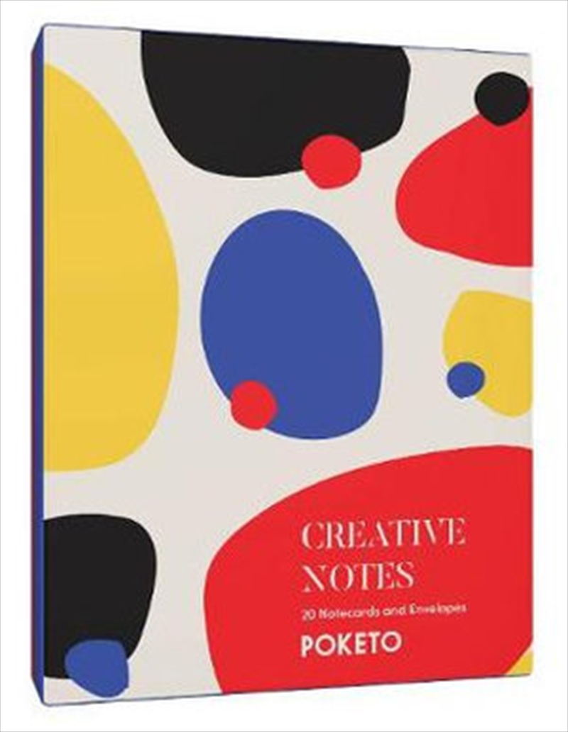 Creative Notes - 20 Notecards and Envelopes | Merchandise