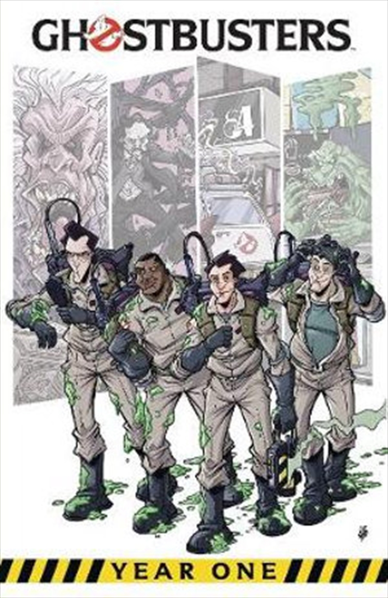 Ghostbusters - Year One   Paperback Book
