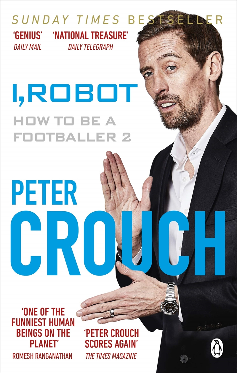 I, Robot: How To Be A Footballer 2 | Paperback Book