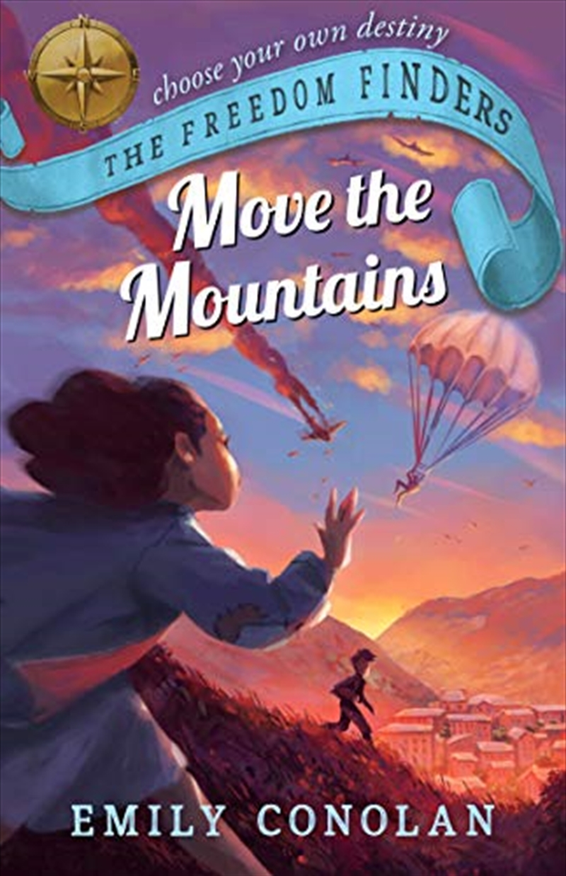 Move The Mountains (3) (the Freedom Finders) | Paperback Book