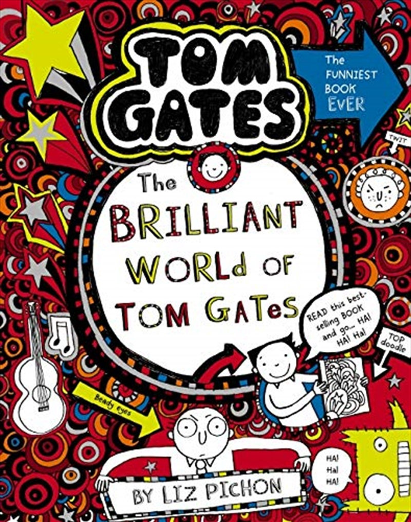 Tom Gates #1: The Brilliant World Of Tom Gates (re-release) | Paperback Book
