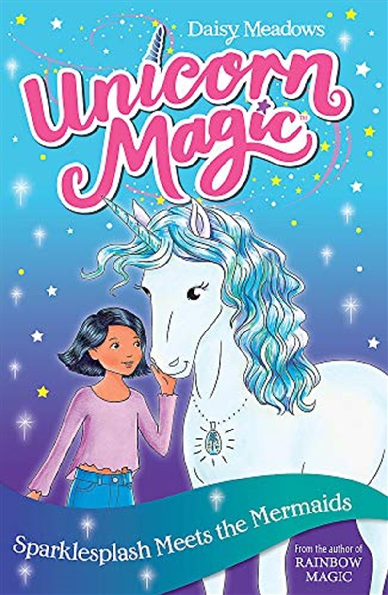 Sparklesplash And The Mermaid Adventure: Book 4 (unicorn Magic) | Paperback Book