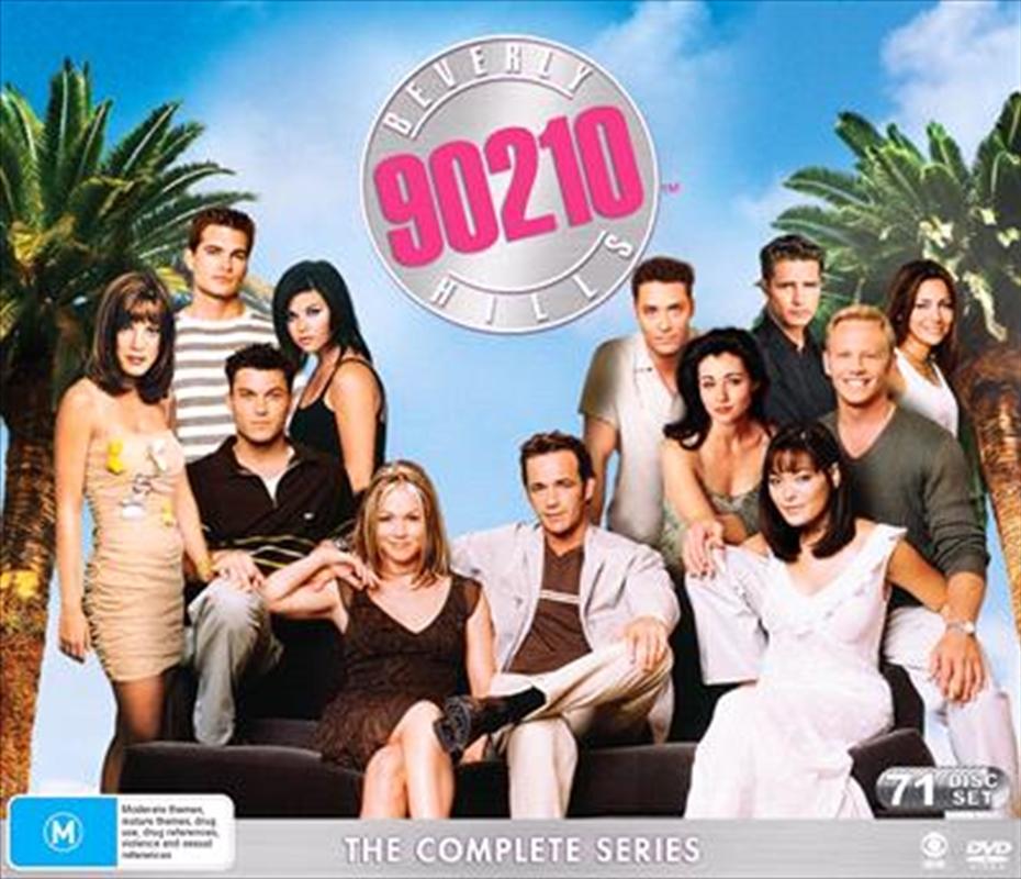 Beverly Hills 90210 - Season 1-10   Boxset   DVD