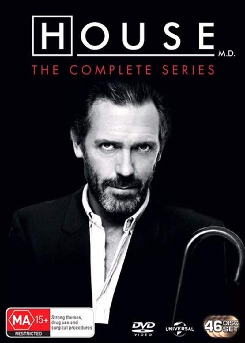 House, M.D. - Season 1-8 | Boxset | DVD
